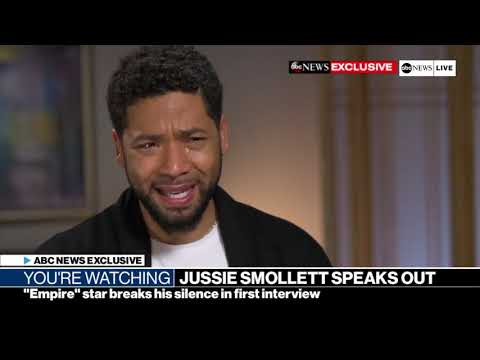 Mashup of Jussie's ABC Interview versus Chicago Police Department Superintendent