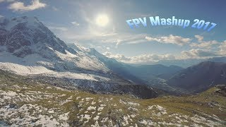 FPV Freestyle Drone French Alps 2017