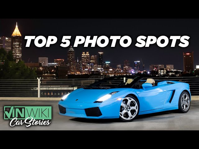 Ed's Top 5 Car Photo Spots