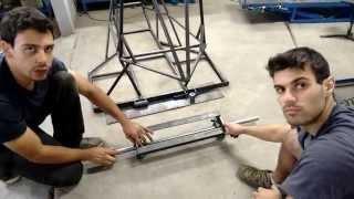 Kart Cross Construção Artesanal FASE 7 - Balança E Eixo Traseiro