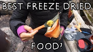 What's the Best Freeze Dried Food?