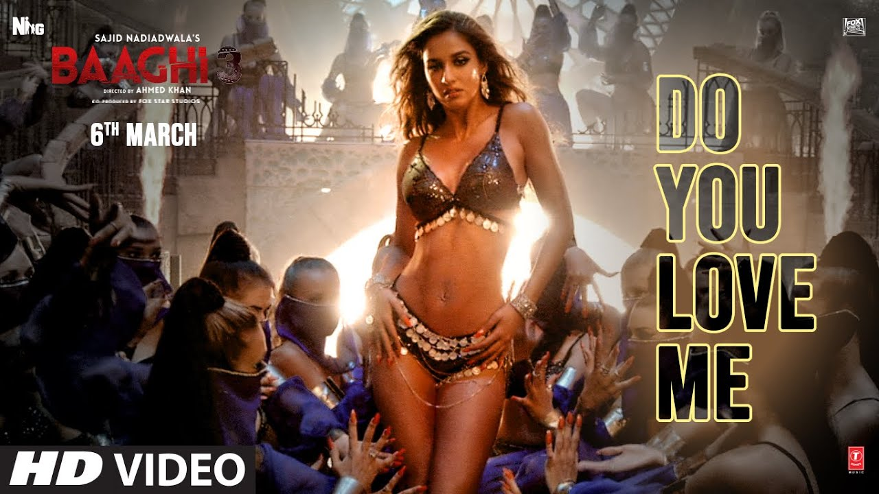 डू यू लव मी Do You Love Me Lyrics in Hindi - Baaghi 3 - Nikhita