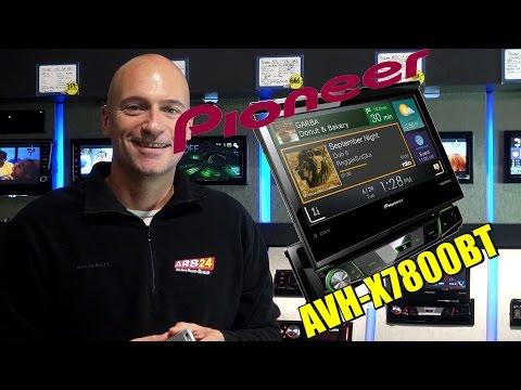 Pioneer AVH-X7800BT ausfahrbares Multimedia-Gerät mit APP-Radio und super Ausstattung bei ARS24