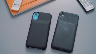 Mophie Juice Pack Access vs Apple Smart Battery Case for iPhone XS/XS Max/XR