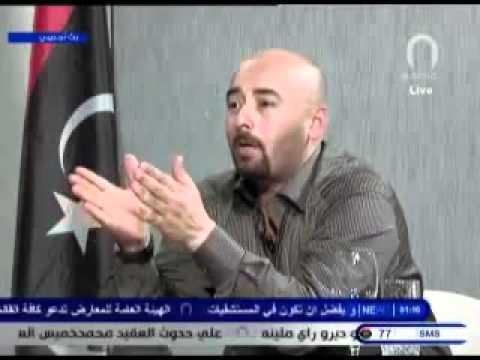 أيمن الزنتاني عضو مجلس قيادة الثورة يتهجم علي هيئة شؤون المحاربين