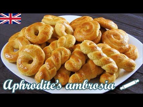Greek Milk Cookies with Vanilla – Orange Flavor (Koulourakia)