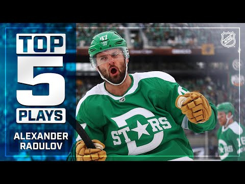 Top 5 Alexander Radulov Plays from 2019-20 | NHL