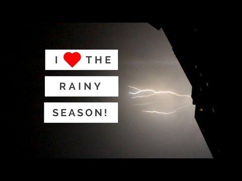 I love the rainy season in the Philippines!