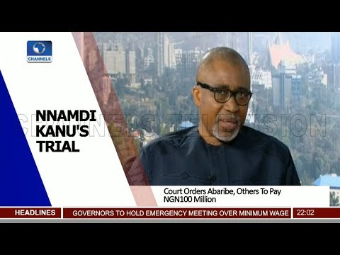 Analysing Role Of Sureties In Kanu's Absence As Court Slams Abaribe, Others 14/11/18 Pt.1 |News@10|