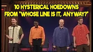 """10 Hysterical Hoedowns From """"Whose Line Is It, Anyway?"""""""