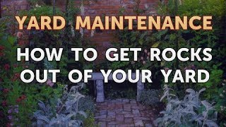 How to Get Rocks Out of Your Yard