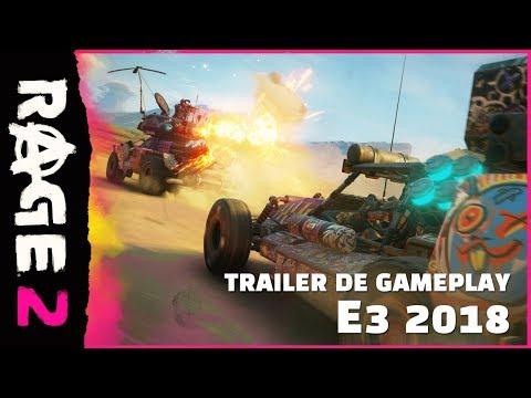 Trailer gameplay E3 2018 de RAGE 2