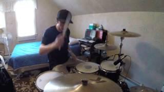 Teenage Satellites - blink-182- Drum Cover