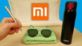 5 НЕТИПИЧНЫХ товаров от Xiaomi: очки, ручка, термос, полотенце, подушка. Посылка из Китая, Обзор