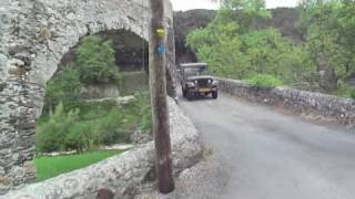 preview picture of video 'jeep m38a1 tour de france  - Excursion en jeep Willys de France'