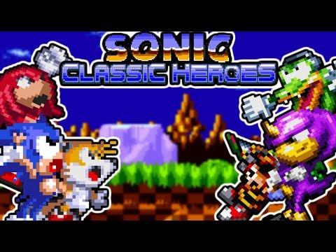 Sonic Classic Heroes (ROM Hack) | All Bosses - смотреть онлайн на