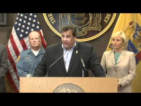 Governor Chris Christie To Idiots: Get The Hell Off The Beach