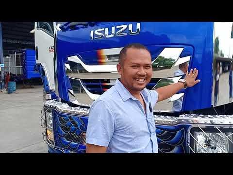 New Isuzu Giga 12 ล้อ อีซูซุ กิก้า  โฉมใหม่มาที่ไทยแล้ว!!!
