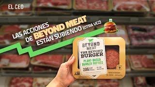 Las acciones de Beyond Meat están subiendo (otra vez)