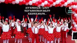 23 Nisan Gösterisi - Sev Kardeşim - İncirlik Ahmet Hamdi Tanpınar - 2B Sınıfı / 2015