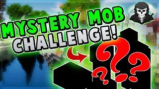 THE MYSTERY MOB CHALLENGE! [Rarest Monster?] ( Hypixel Skywars )