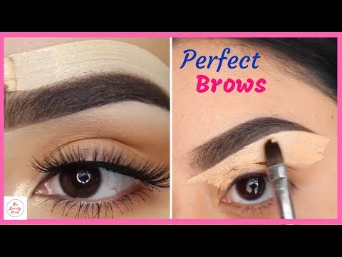 How to: Apply Daily Eyebrow Makeup | Beautiful Eyebrows Instagram Compilation 2018