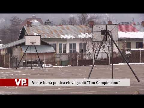 """Veste bună pentru elevii școlii """"Ion Câmpineanu"""""""