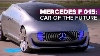 Mercedes F 015: Car of the future | CNET on Cars,  Ep. 62