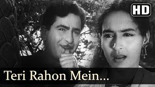 Teri Rahon Mein Khade Hain - Nutan - Chhalia - Raj Kapoor