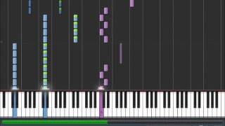 Avenged Sevenfold - Bat Country Synthesia Piano Cover