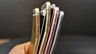 iPhone 6S & iPhone 6S Plus Bend Test!