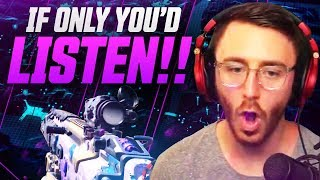 If Only You'd Listen!! - COD: Blackout Squad Gameplay
