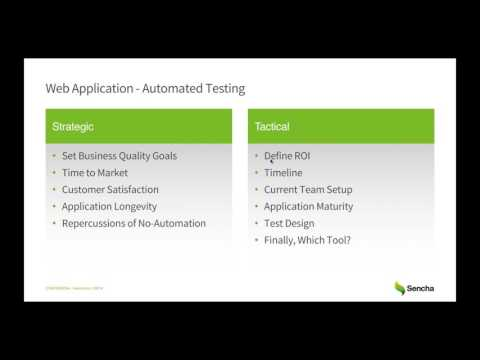 Continuous Testing Odyssey: Learn Best Practice for End-to-End Web App Testing Related YouTube Video