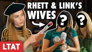 I Painted Rhett & Link's Wives.