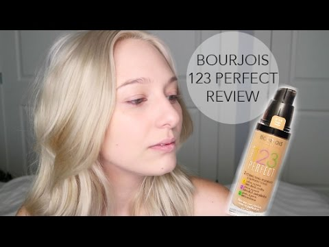 BOURJOIS 123 PERFECT FOUNDATION - REVIEW & DEMO