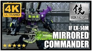 Iron Factory IF. EX-14M MIRRORED COMMANDER Transformers Legend Class Shattered Glass Optimus Prime