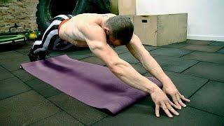 Три упражнения, которые прокачают ваш пресс от Виктора Блуда