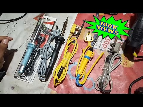 Best soldering iron according to your work