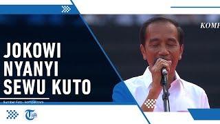 Turut Bernyanyi Sewu Kuto Milik Didi Kempot, Jokowi Teringat Perjalanan sebagai Presiden