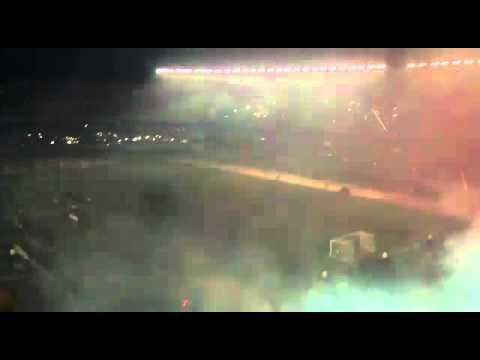 """""""Terrible recibimiento: River 1 - independiente Del valle 0"""" Barra: Los Borrachos del Tablón • Club: River Plate"""