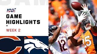 Bears vs. Broncos Week 2 Highlights | NFL 2019