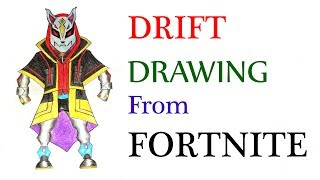 How To Draw Drift Max Fortnite Step By Step Free Online Videos