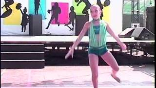 A jazz dance solo to River Deep