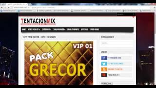 DESCARGAR MUSICA ACTUALIZADA (Electro, Cumbia, Reggaeton, y mas) en TENTACIONMIX.NET