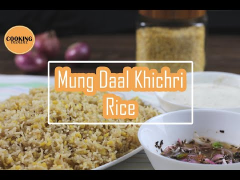Mung Daal Khichri Recipe By Cooking Mount