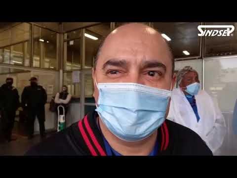 Sindsep protesta contra a privatização da saúde pública no Hospital Municipal de Ermelino Matarazzo
