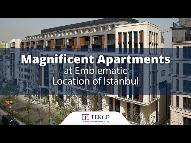Magnificent Renovated Flats in an Ideal Area of Istanbul