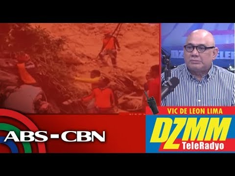 [ABS-CBN]  DZMM TeleRadyo: Rescuers still hope to find survivors in Cebu landslide
