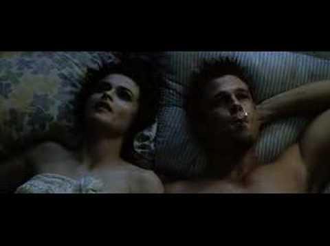Helena bonham carter sex scene fight club
