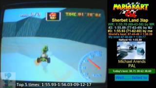 MK64 SL 3lap 1:55.93 PAL God / Halford 9